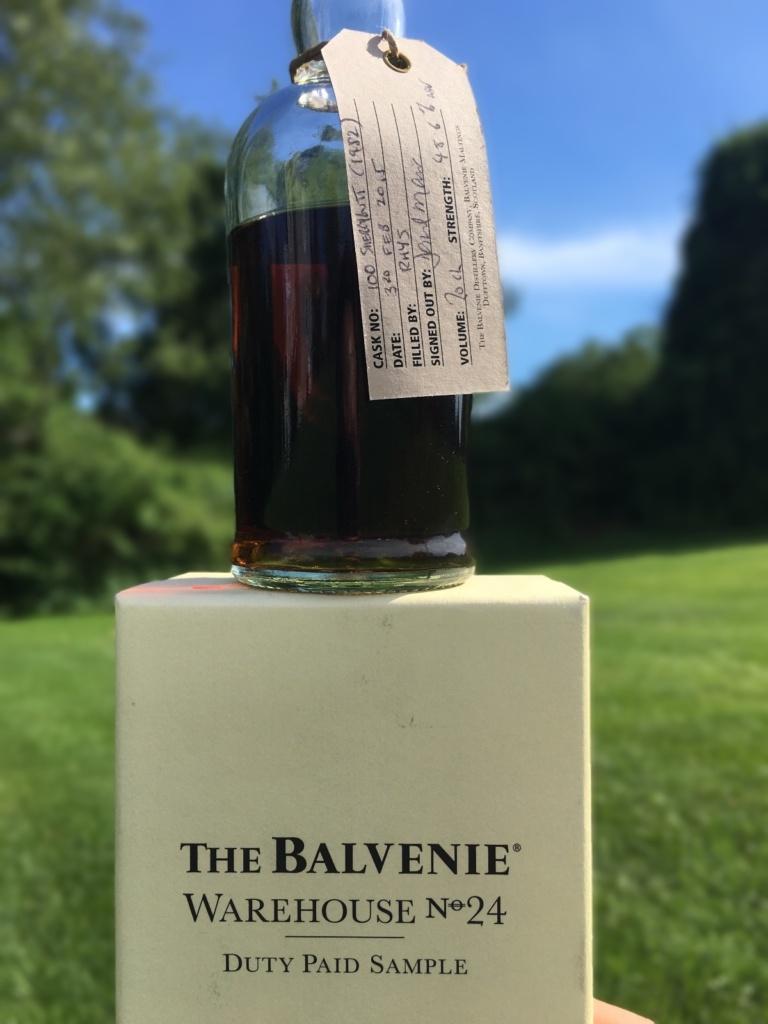 Balvenie 33 Year Cask 100 Shot 1