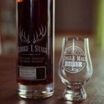 George T. Stagg and glass