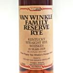 Van Winkle Family Rye
