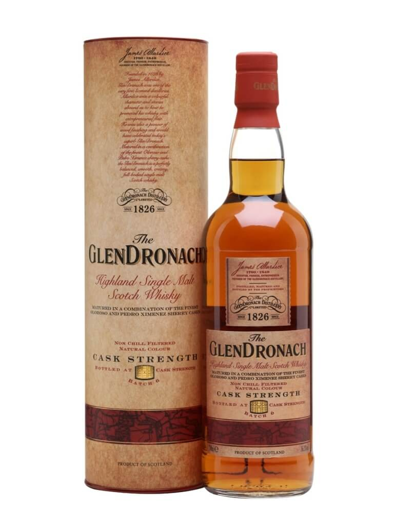 Glendronach Cask Strength Bottle