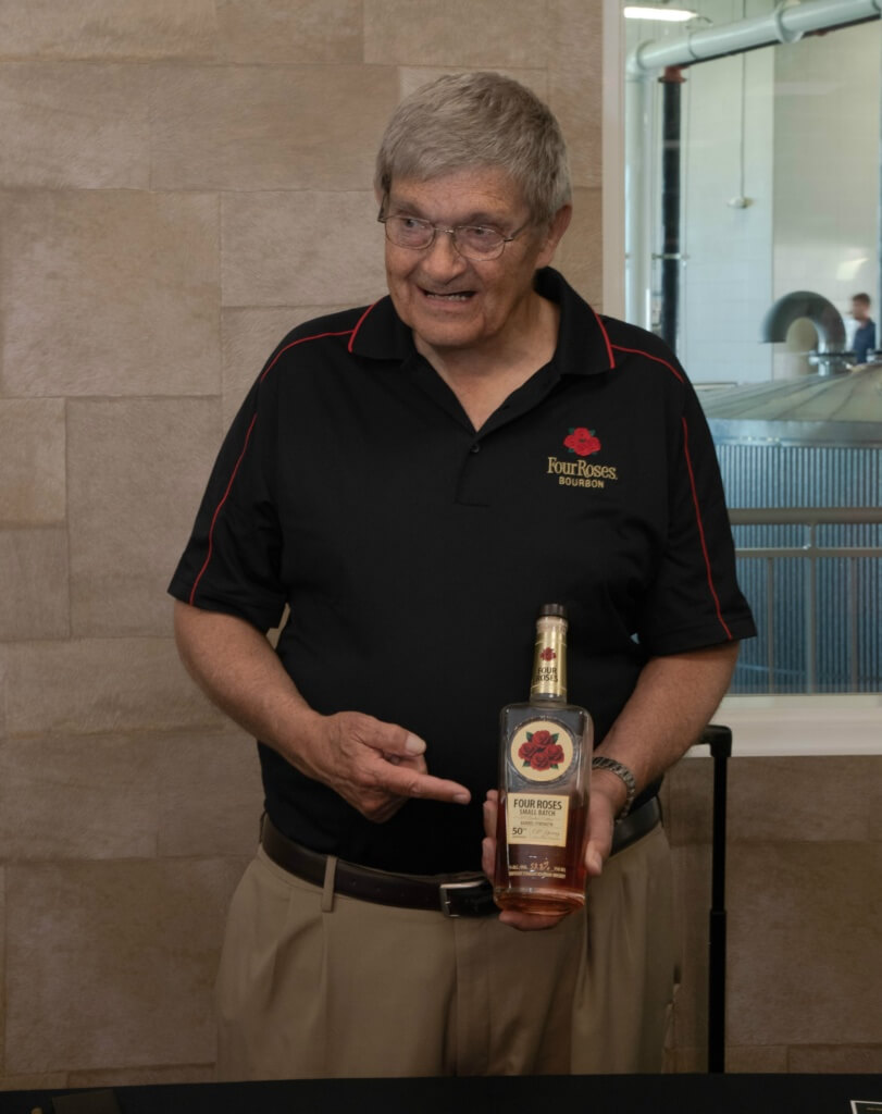 Al Young holding his namesake bottle