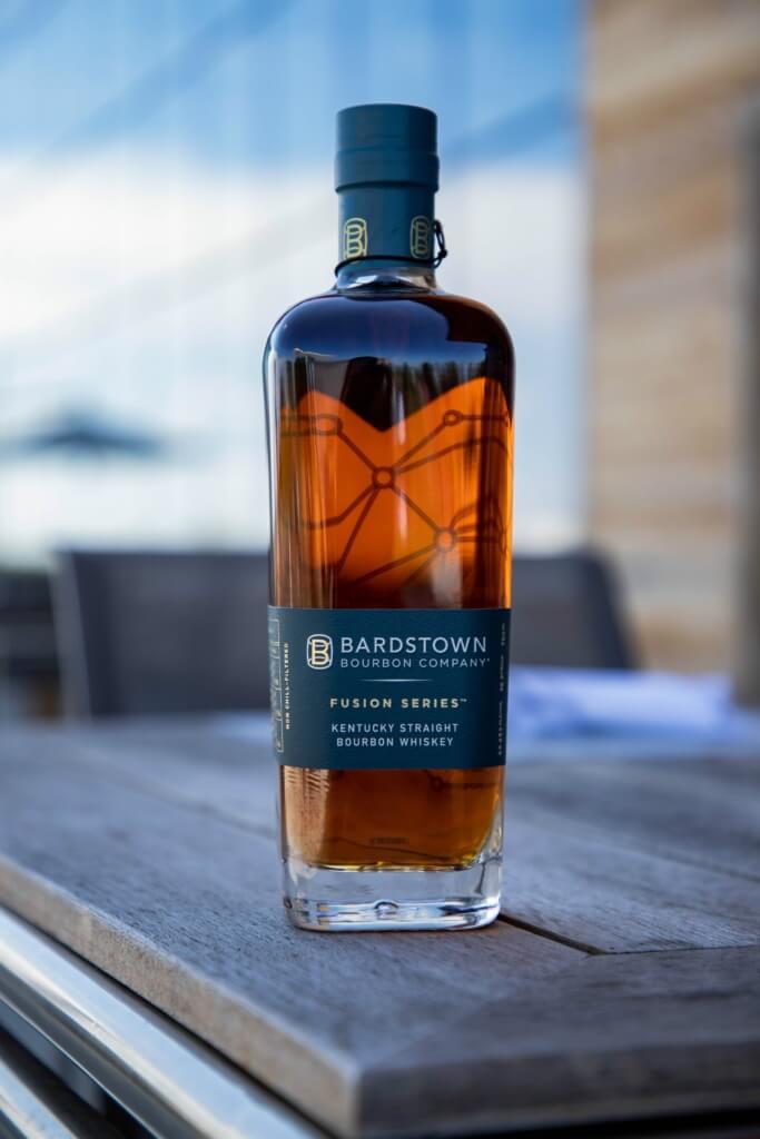 Bardstown Bourbon Company Fusion bottle outside
